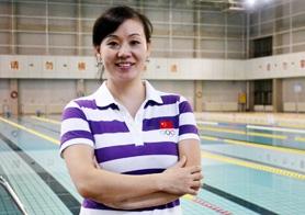 舒兰冠军游泳教练员