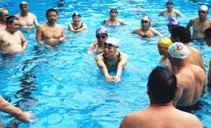 游泳健身教练培训